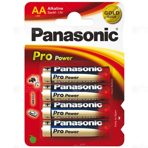 Элем. пит. Panasonic PRO Power арт.LR6 BP-4